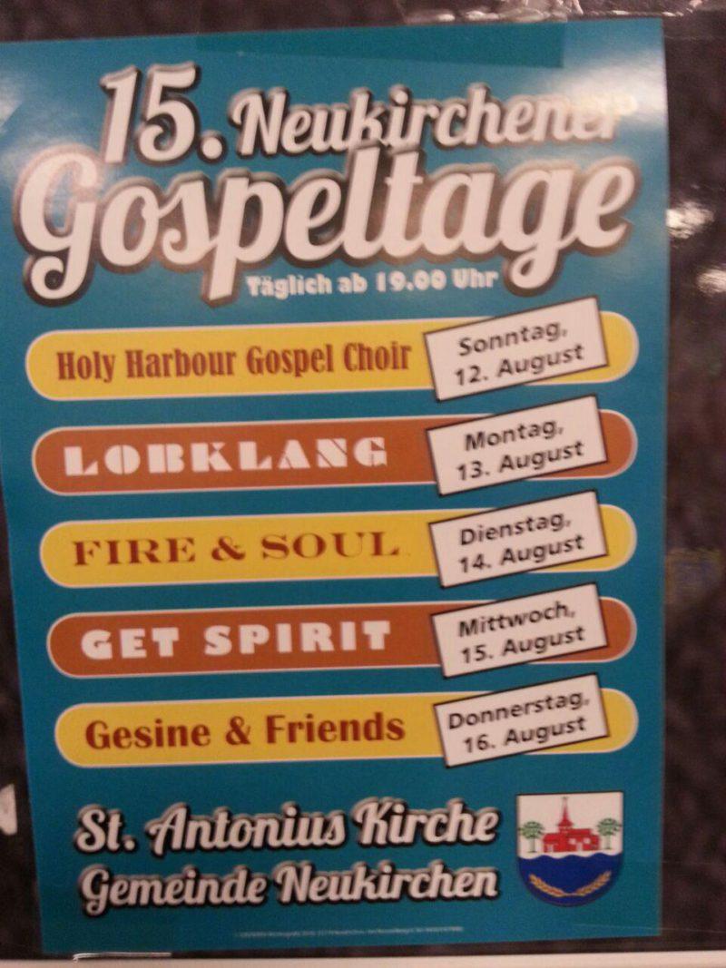 15. Neukirchener Gospeltage