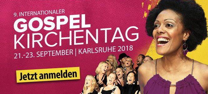 9. Internationaler Gospelkirchentag in Karlsruhe