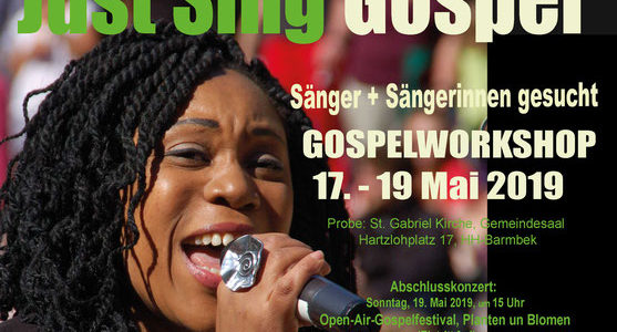 It's Gospeltime in Hamburg, 17.-19. Mai 2019